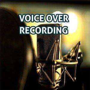 Voice-over recording studio services
